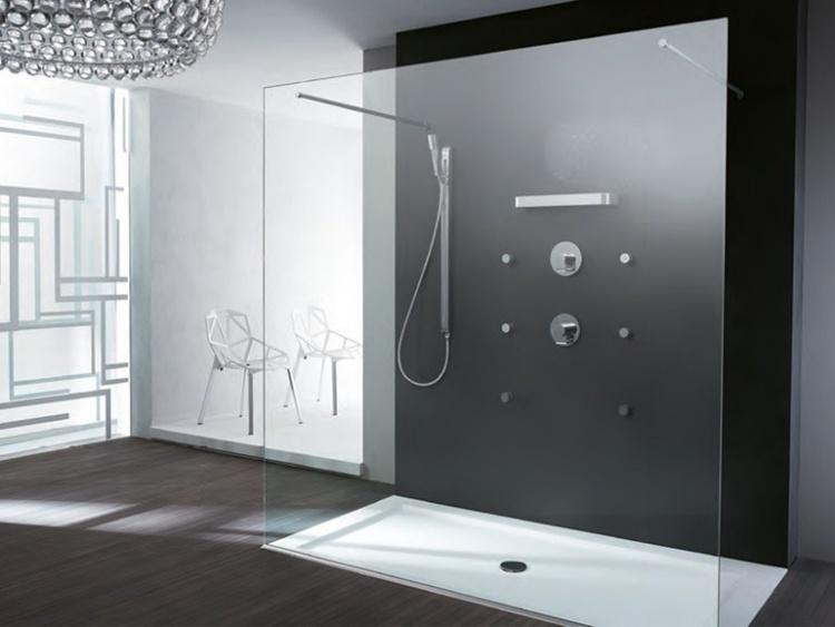 34 moderne Glas Duschkabinen und WalkInGlasduschen
