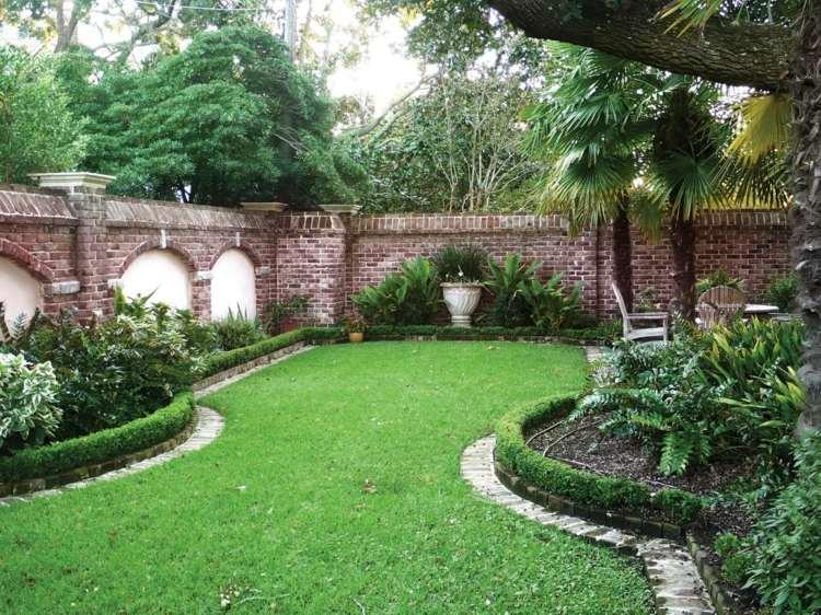 beeteinfassung bauen beetumrandung aus holz metall oder stein, Garten und erstellen