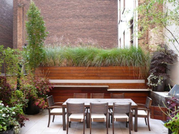 sichtschutz fur terrassen diy sichtschutz fur terrassen pflanzen, Gartengerate ideen