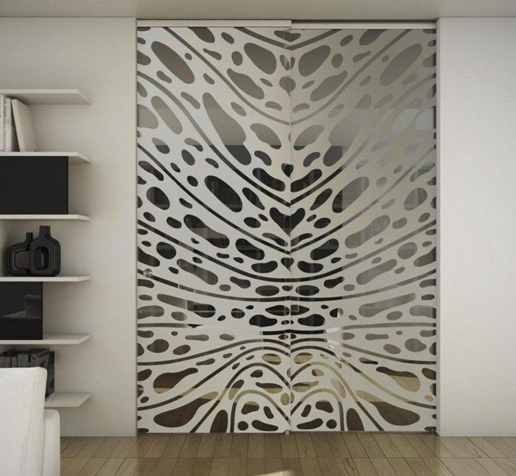 Innentren aus Glas  Schiebetren von Foa Porte