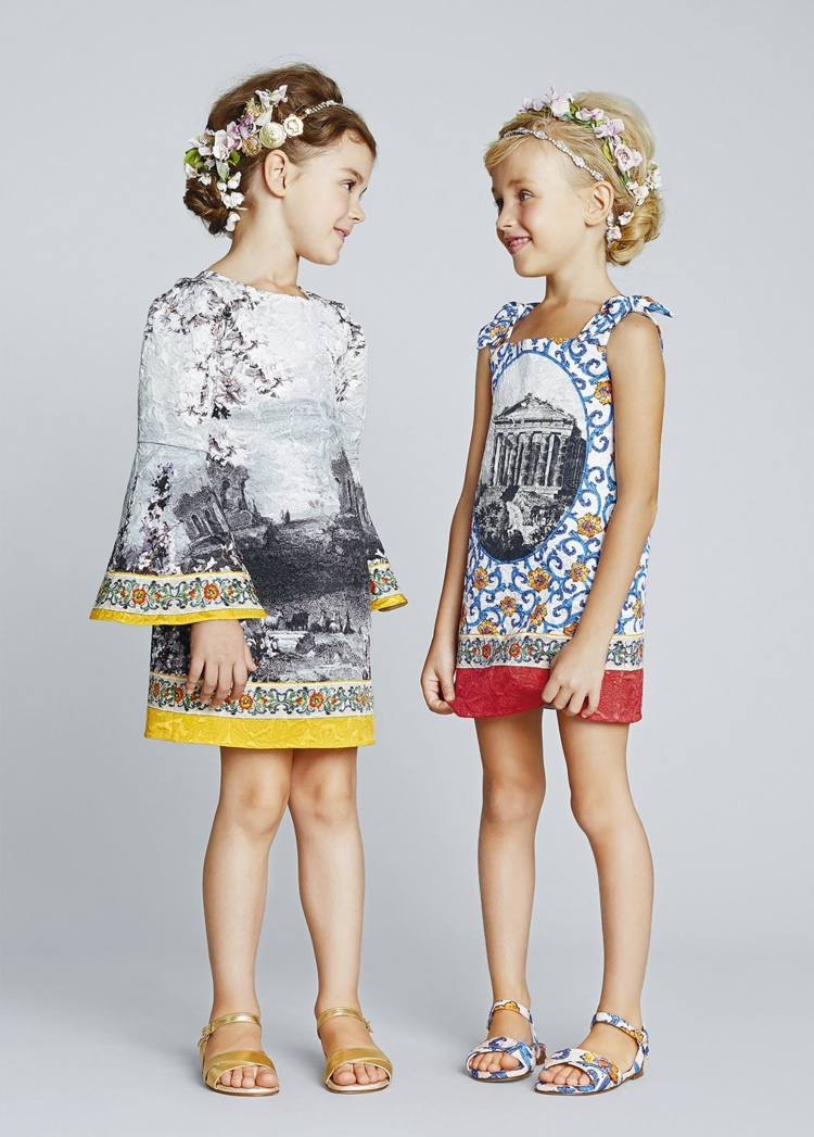 Kindermode fr Mdchen  charmante Outfits fr Prinzessin