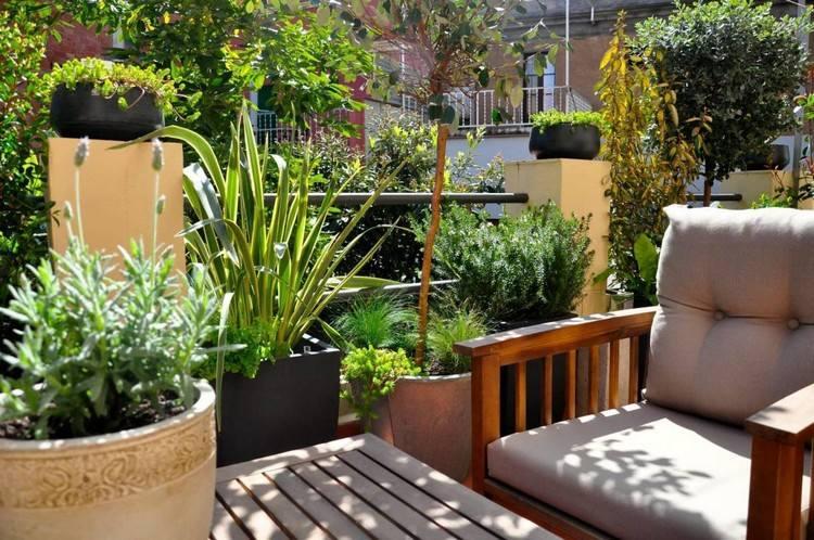 Sichtschutz Balkon Pflanzen | Moregs Balkon Pflanzen Blumen Sichtschutz