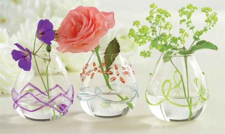 Deko Vasen Glas rewe blumenbote blumen und geschenke versenden zylinder glasvasen mit 25