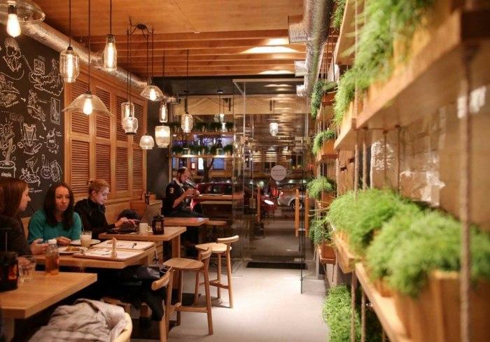 Restaurant Design In Kiev Mit Beeindruckendem Interieur
