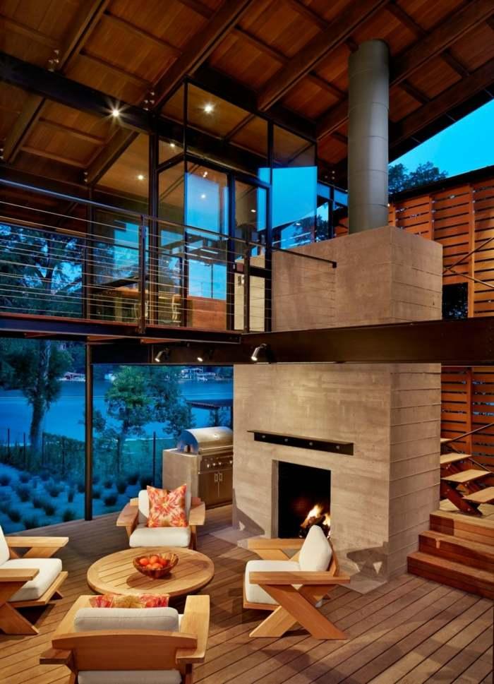 Haus in Texas  Ein modernes Traumhaus direkt am See