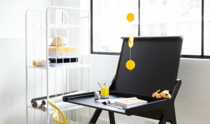 kinder schreibtisch designs fur moderne kinderzimmer einrichtung, Möbel