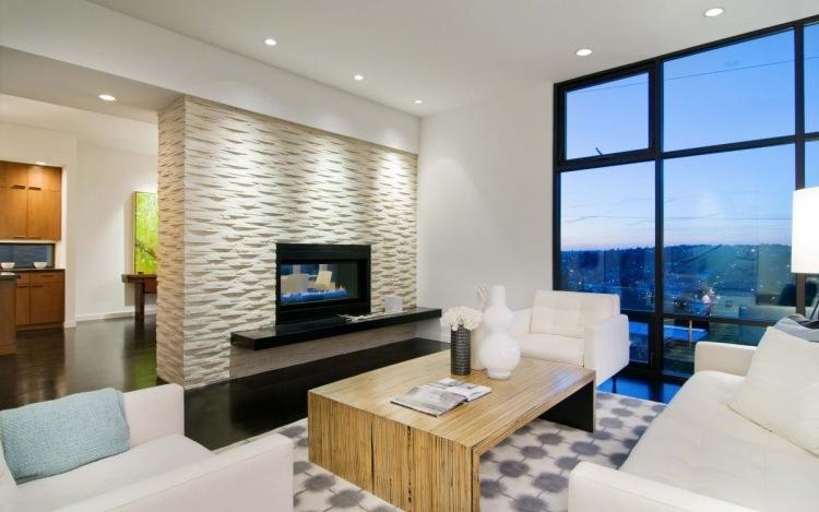 Moderne Wohnzimmer Mit Kamin | Ifmore