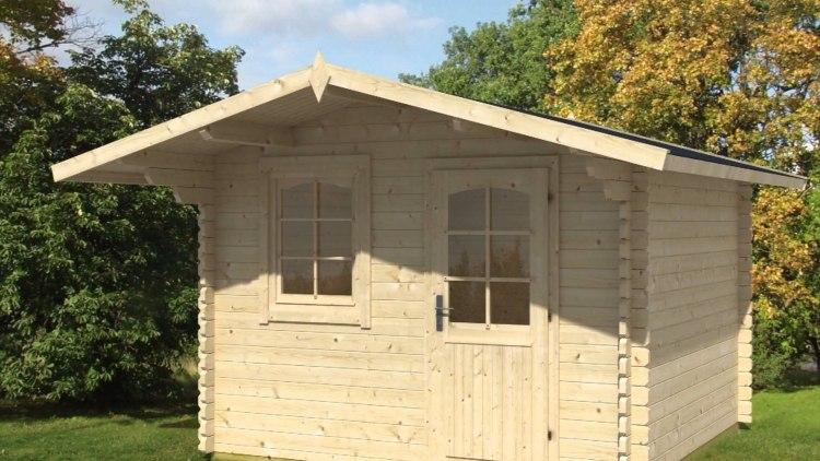 holz gartenhaus behandeln » terrassenholz, Gartengerate ideen