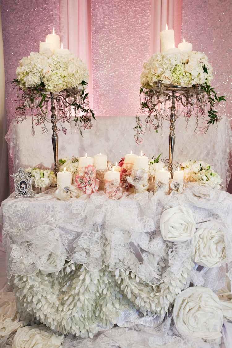 Tischdeko zur Hochzeit  27 opulente Mustertische