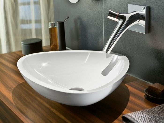 Wasserhahn Design aus Glas  Axor Starck V by Hansgrohe