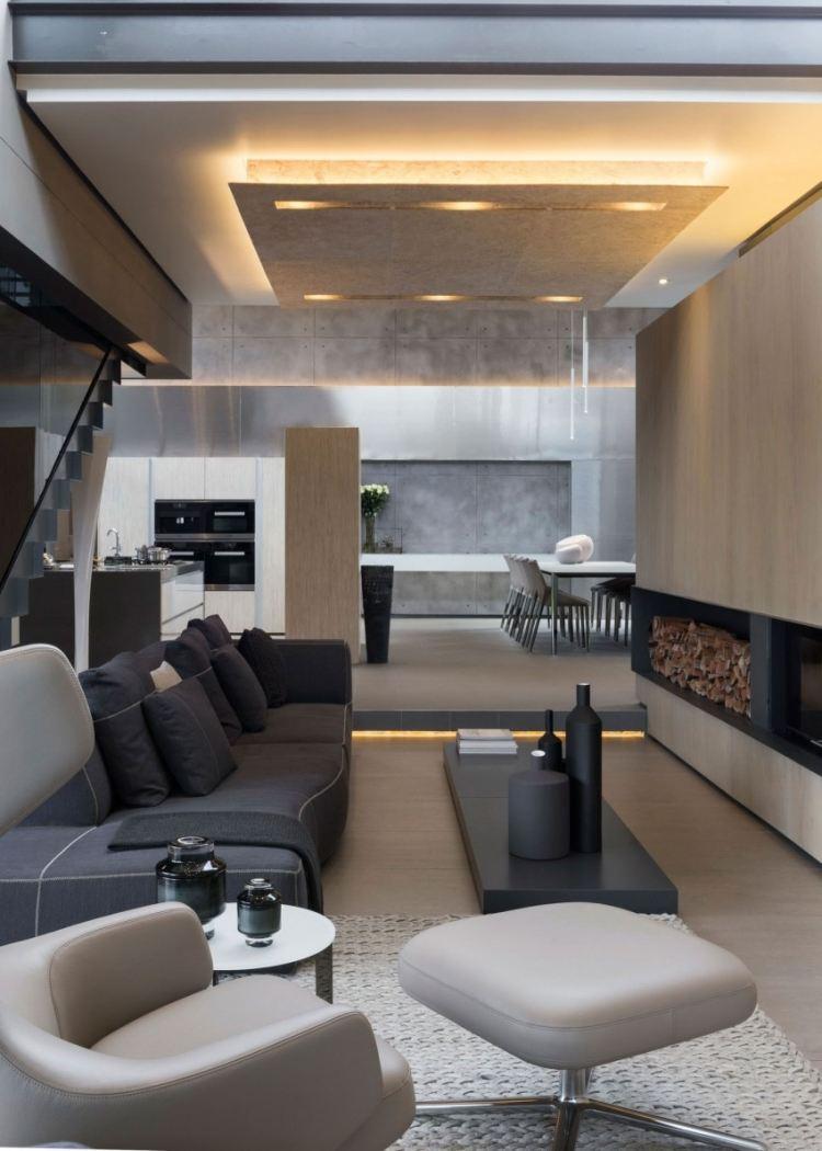 37 exquisite Wohnrume mit Kamin in Architektenhusern