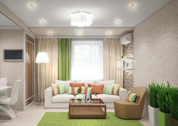 design : wohnzimmer braun beige grün ~ inspirierende bilder von ...