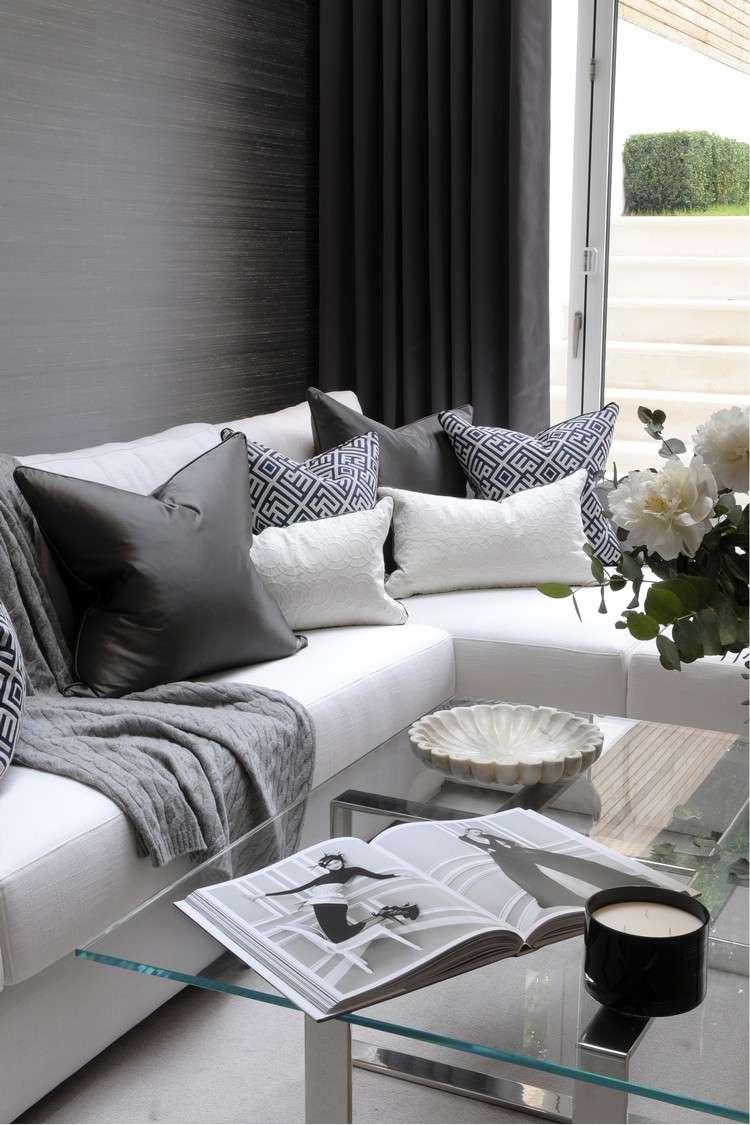 Wohnzimmer Gestalten Grau ...