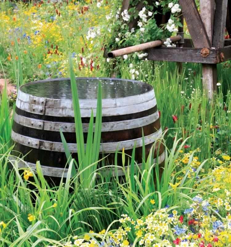 gartenbrunnen aus stein selber machen - boisholz,