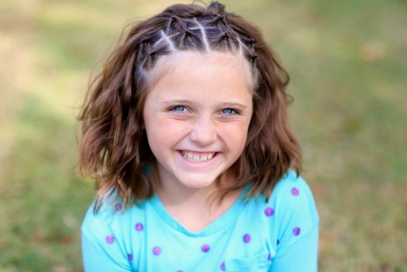 Kinderfrisuren Für Mädchen Flechtfrisuren Für Den Sommer