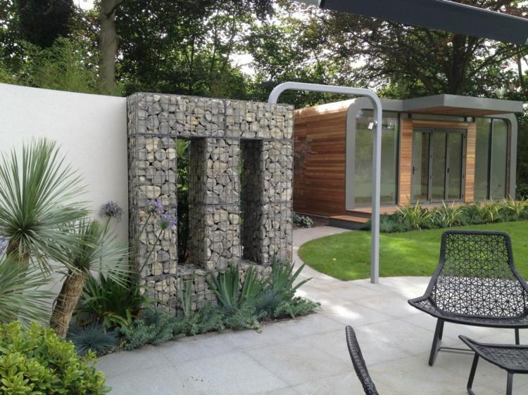 sichtschutz terrasse mauer bild bild inspiration von haus design, Garten dekoo