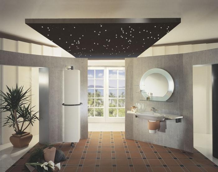 Badezimmer Beleuchtung die Aufmerksamkeit verlangt