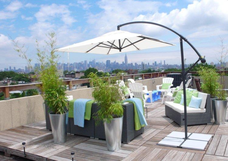 Emejing Bambus Kubel Sichtschutz Terrasse Ideas - Globexusa.Us