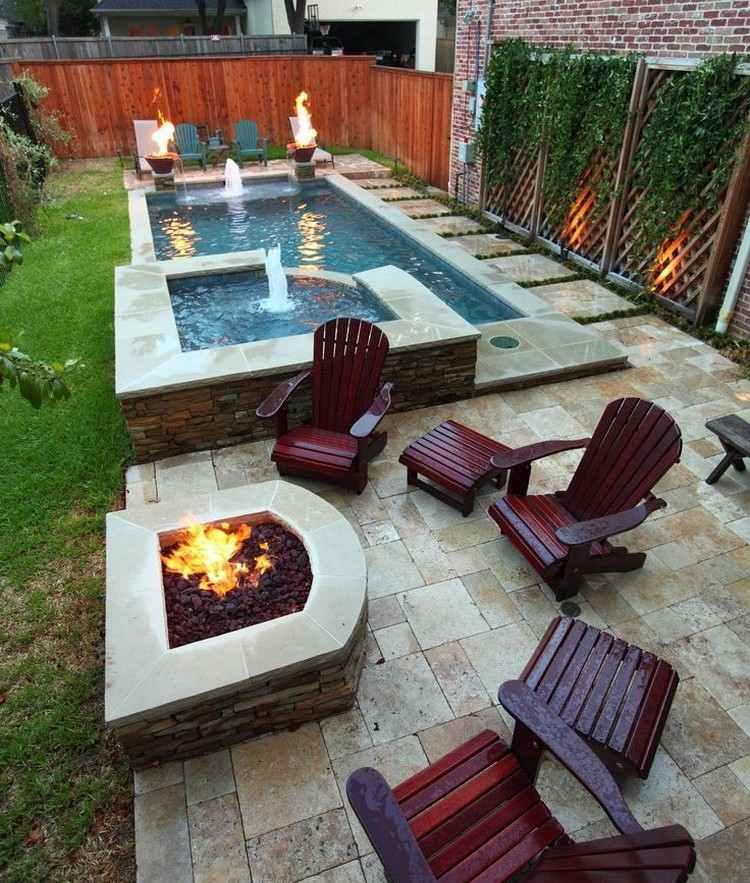 Feuerstelle im Garten bauen  49 Ideen und Bilder