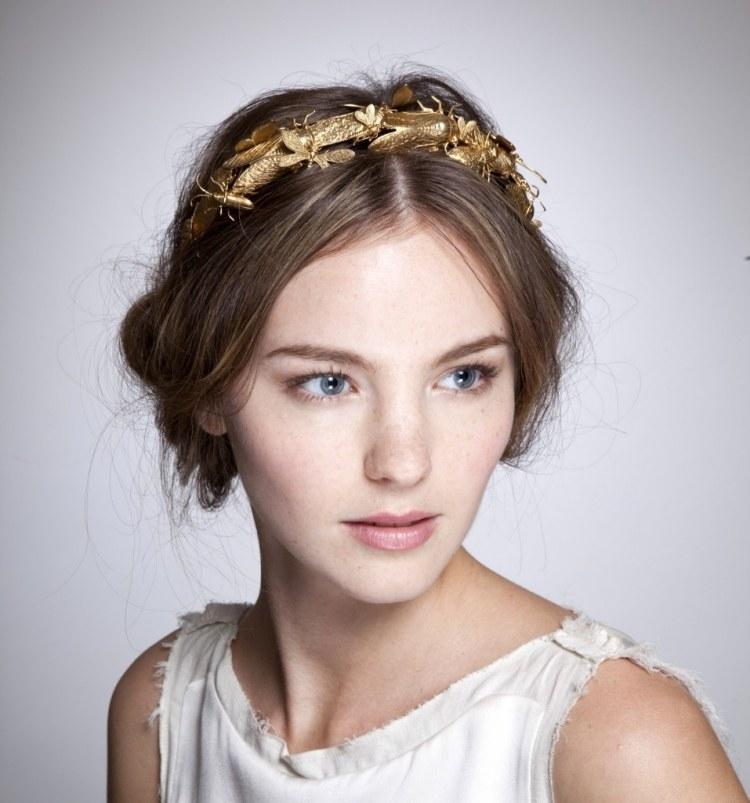 Frisuren mit Haarband  30 Ideen fr einen romantischen Look
