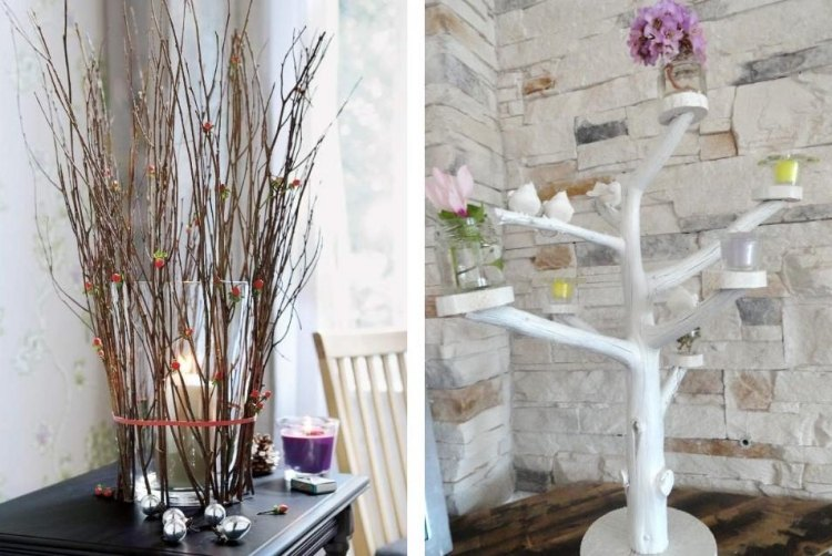 Frhlingsdeko mit Zweigen  20 schne Ideen zum Nachmachen