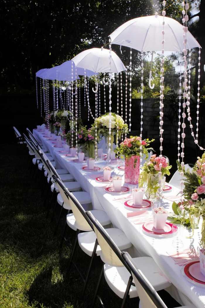 Garten Braut Party  18 Ideen die Sie nachmachen knnen