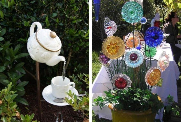 bunte steine basteln mit kindern ideen haus gartendekoration, Garten und erstellen
