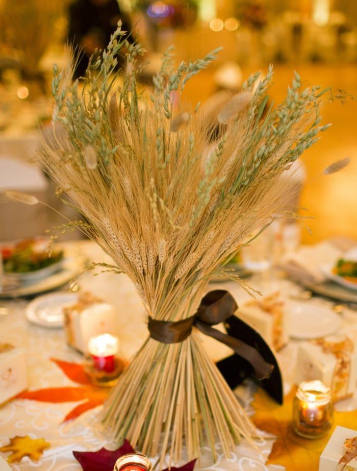 Hochzeit an Thanksgiving  Traditionelle HerbstDekoideen