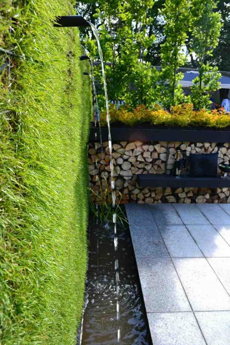 contemporary small garden designs » terrassenholz, Garten dekoo