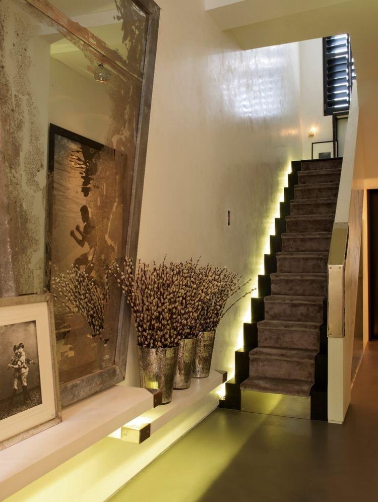 LED Treppenbeleuchtung innen 25 Ideen fr die Gestaltung