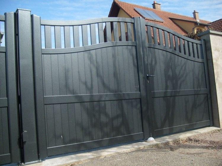 Elegant ... Sammlung Alitopten; Gartenzaun Blickdicht Metall By Gartenzaun  Blickdicht Metall M 246 Belideen