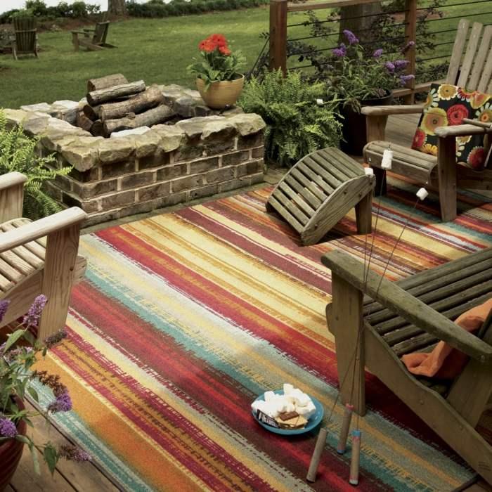 vintage deko mit vintage sessel kombinieren | designmore, Gartengerate ideen