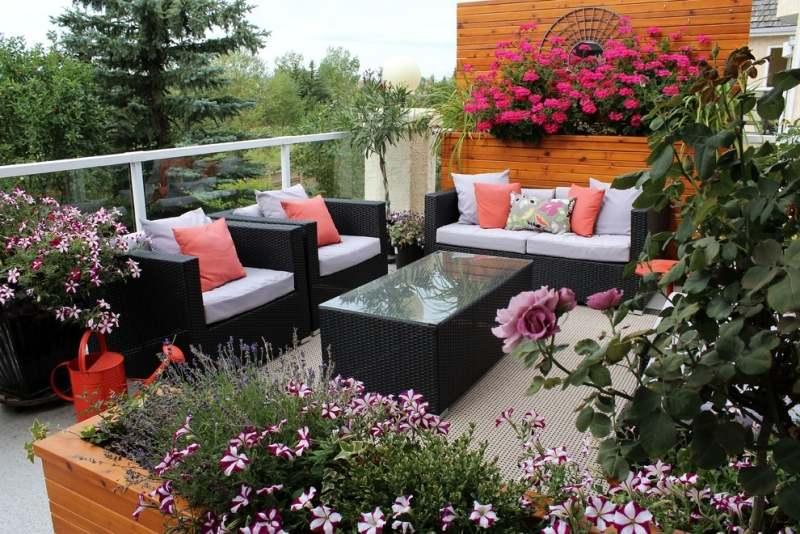 garden large garden ideas and designs » terrassenholz, Gartengerate ideen