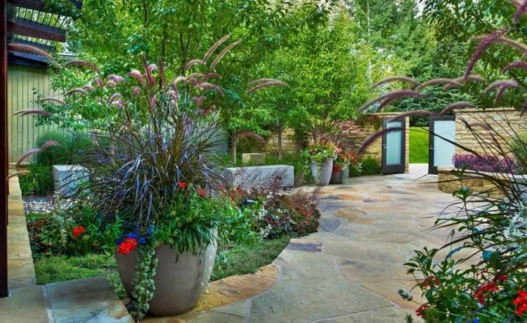 tipps zur gestaltung vorgarten immergrune pflanzen fur steingarten,