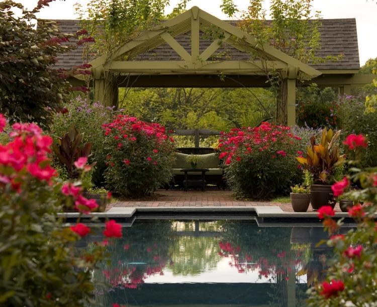 ideen fur pergola im garten - terrasseenbois, Garten dekoo