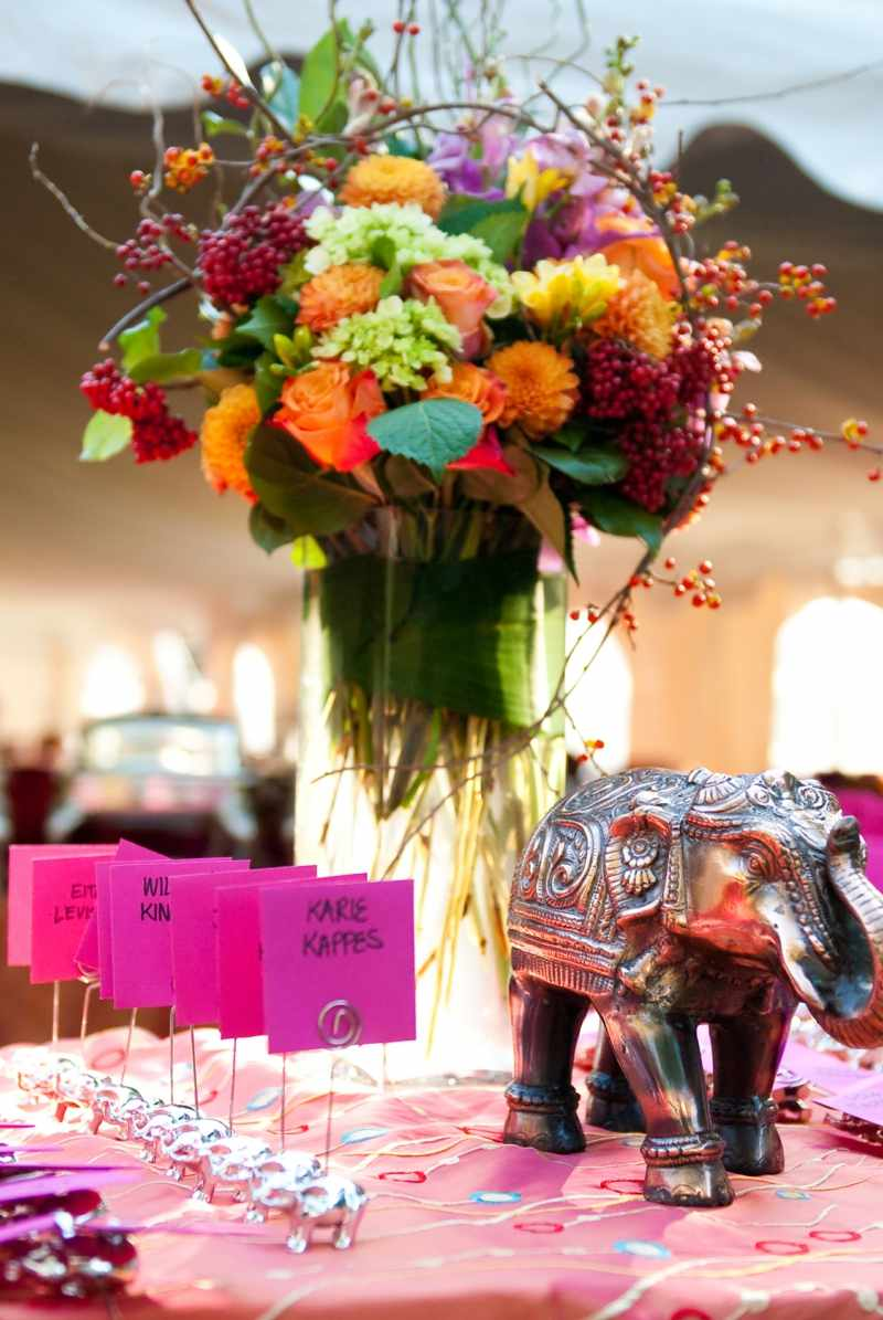 30 Reizende BlumenArrangements als Hochzeitsdeko