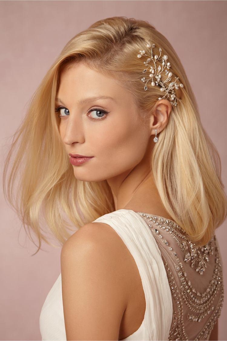 Brautfrisuren Seitlich Gesteckt 30 Elegante Inspirationen Frisur