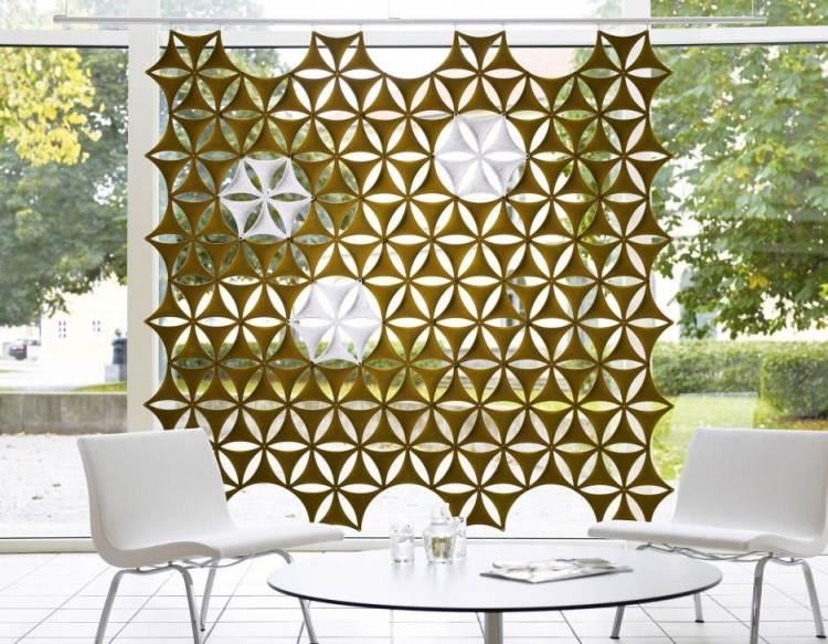 25 Design Schallabsorber und dekorative Trennwnde