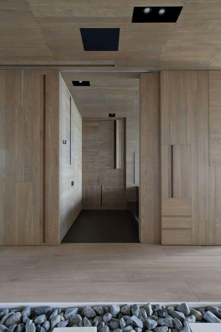Japanischer Stil als Inspiration fr eine Wohnung in Moskau