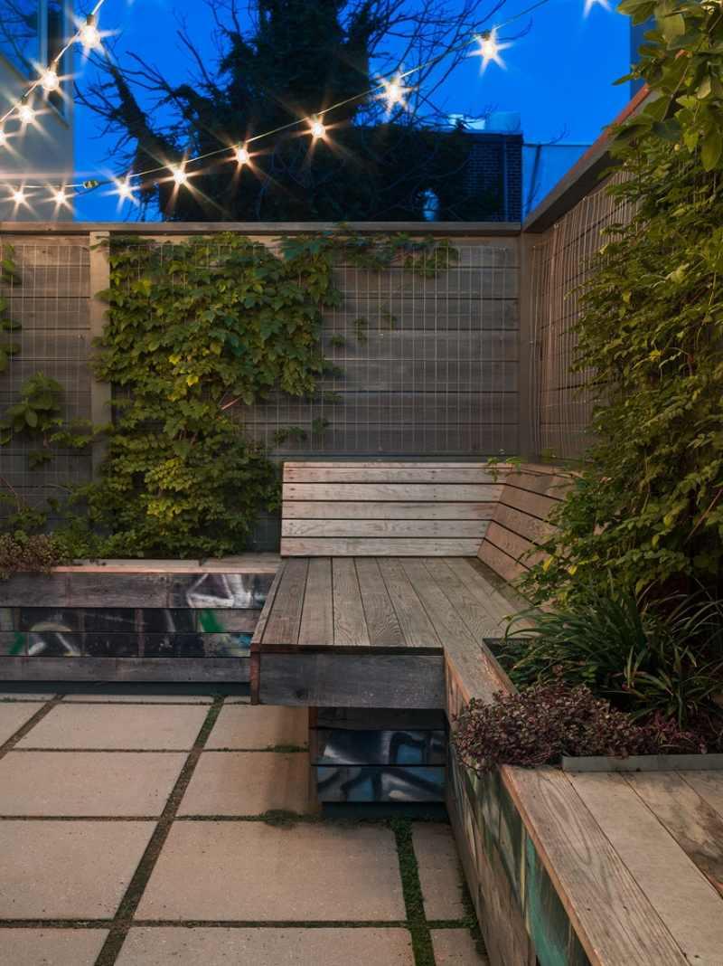 themen sichtschutzzaun » terrassenholz, Gartengerate ideen