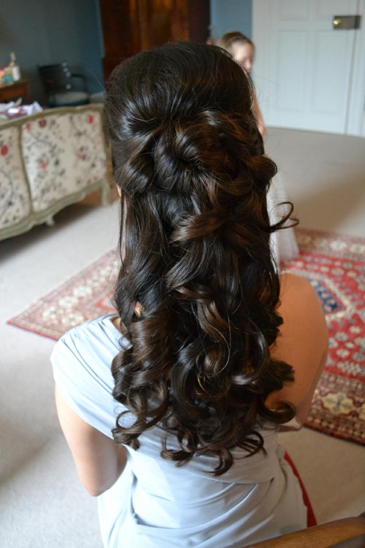 Abiball Frisuren Locken