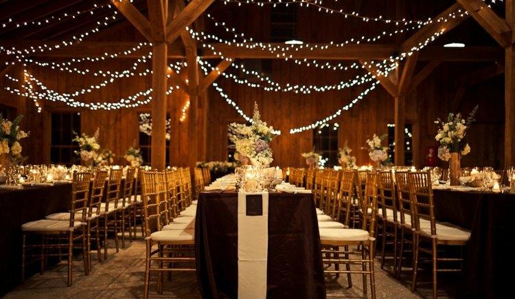 Tischdeko im Winter zur Hochzeit  18 Farb und Motivideen