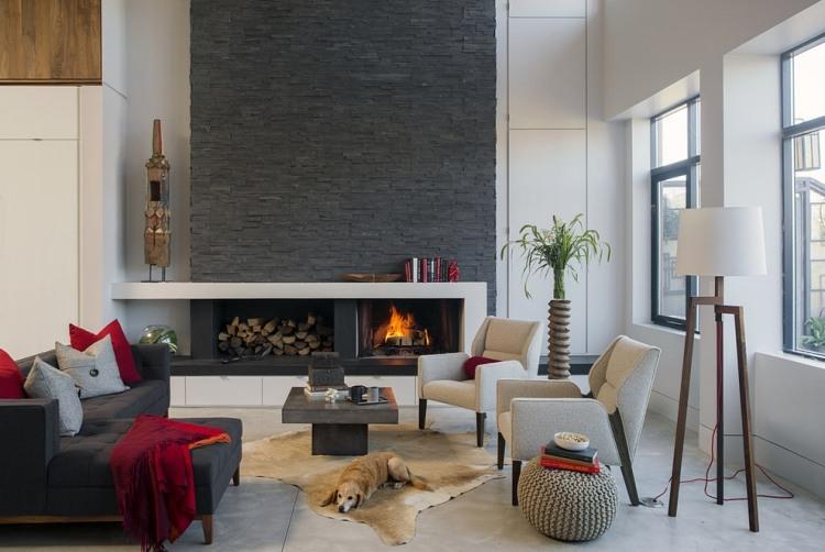 awesome brennholz lagern ideen wohnzimmer garten ideas - globexusa ... - Brennholz Lagern Ideen Wohnzimmer Garten