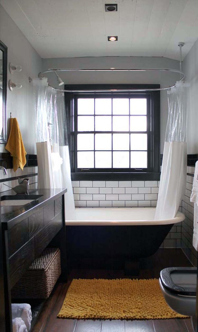Moderne Badezimmergestaltung  Fliesen fr kleines Bad