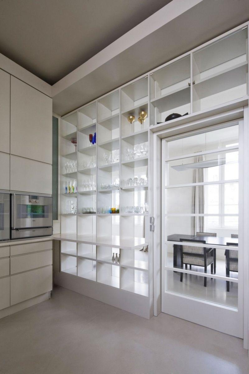 Offene Wohnküche modern gestalten & trennen - Ideen für die Einrichtung