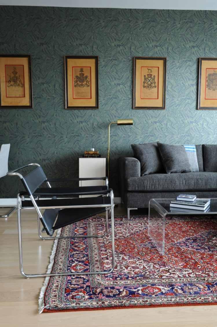 Perserteppiche als Highlight im Wohnraum  33 Beispiele