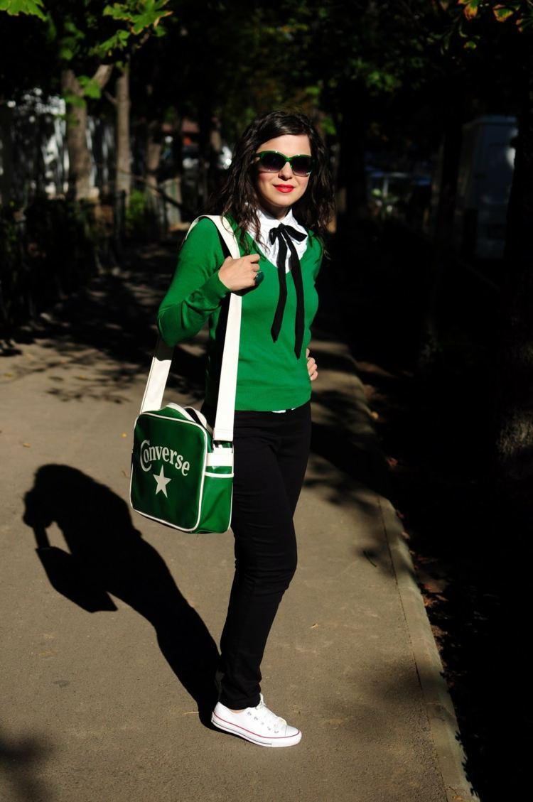 Outfits fr die Schule  Stilvolle Kleidung auch nach den