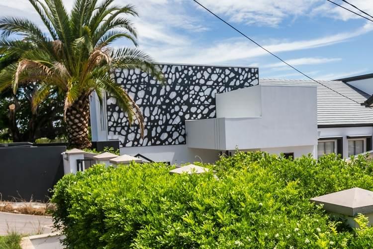 sichtschutzzaun aus metall bietet viele vorteile ideen - boisholz, Hause und garten