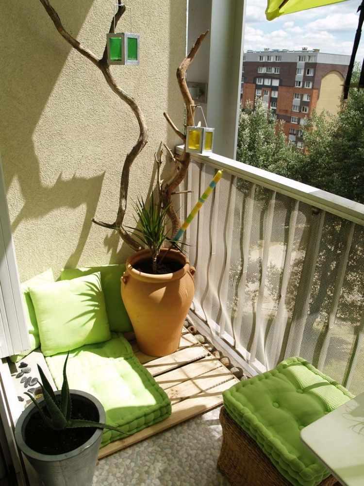 terrasse einrichten sitzsack muster idee pool sitzbank dekokissen, Terrassen ideen