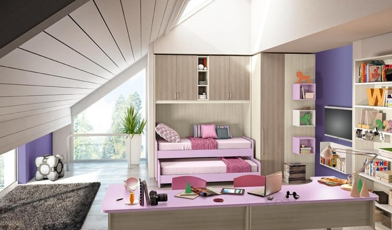 hochbett kinder doimo cityline - boisholz, Schlafzimmer